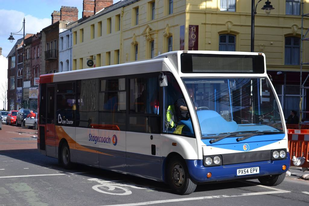 A man has been arrested arrested for an alleged attack on a bus driver