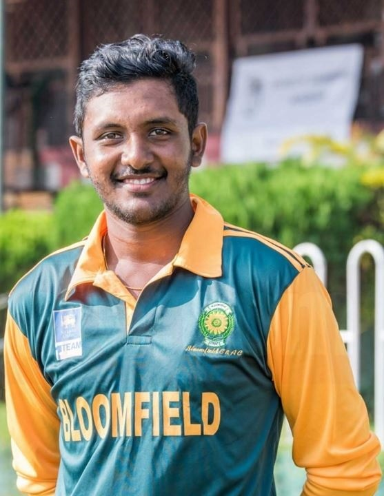 Lahiru Jayakody has joined Haverigg CC as their overseas player for 2019 Picture: Submitted by Haverigg CC