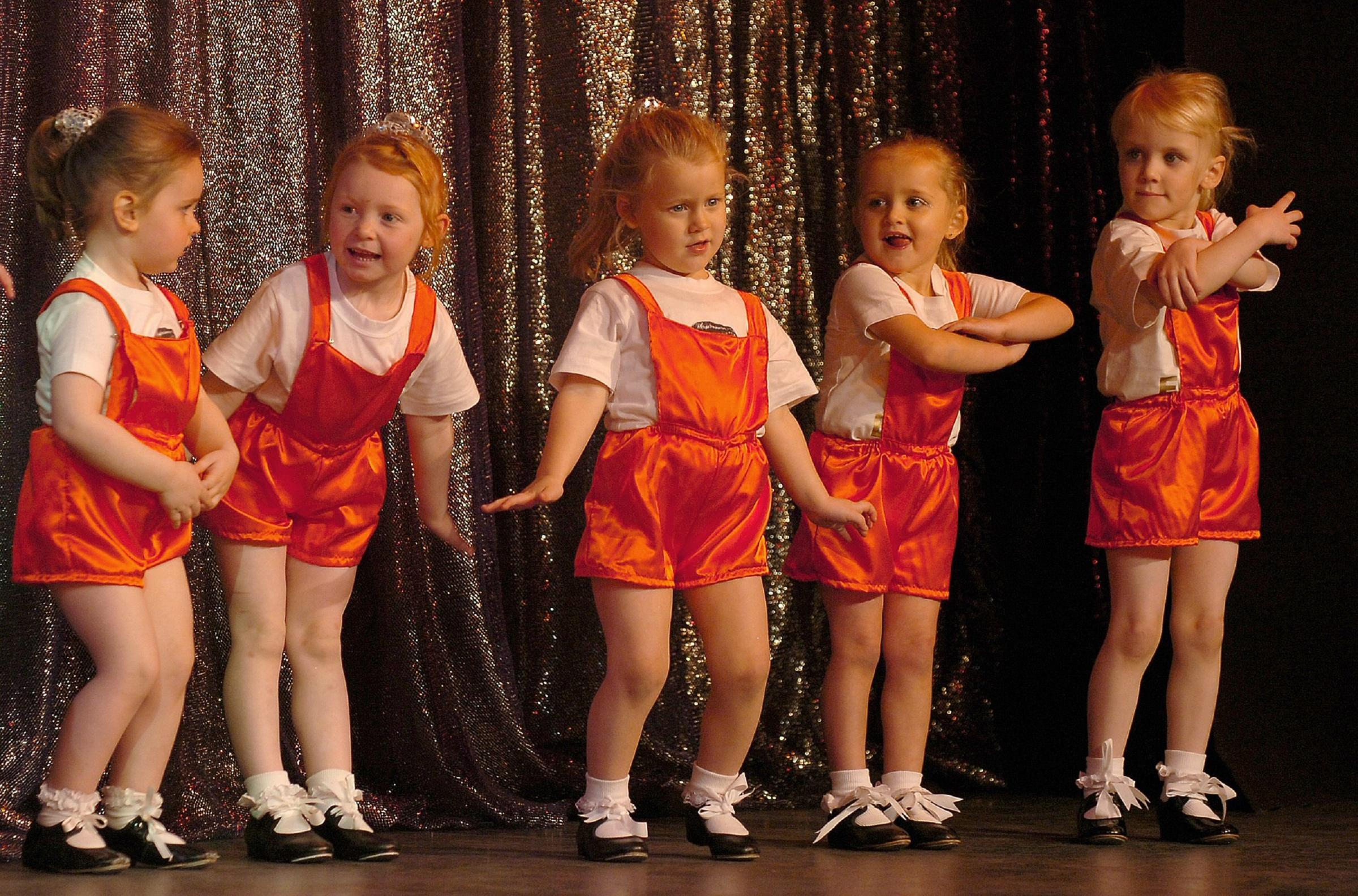 Moves: Youngsters from the Imperial School of Dancing with a 2008 Dance Krazy routine at Barrow's Forum 28
